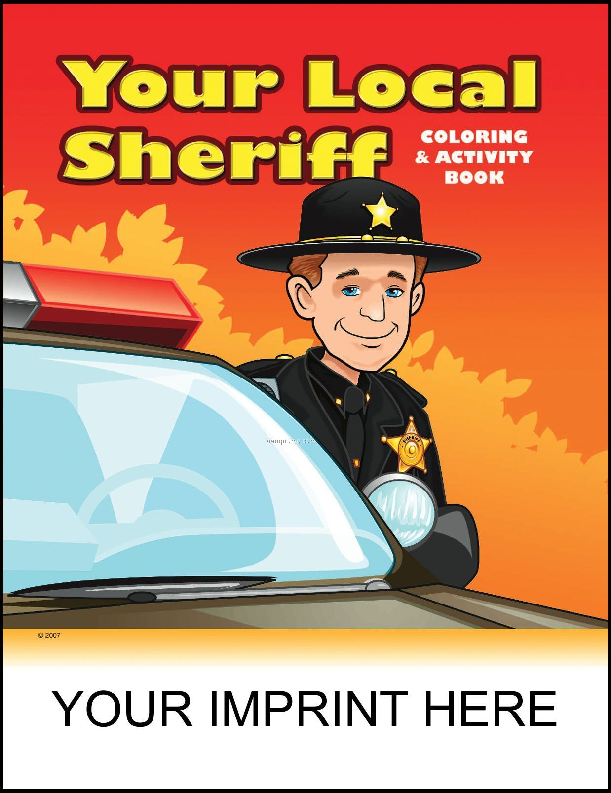 Your Local Sheriff Coloring & Activity Book