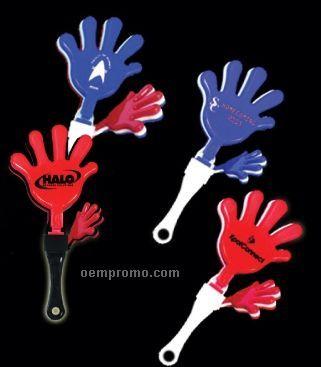 """7"""" Hand Clapper (Blue/ White/ Blue)"""