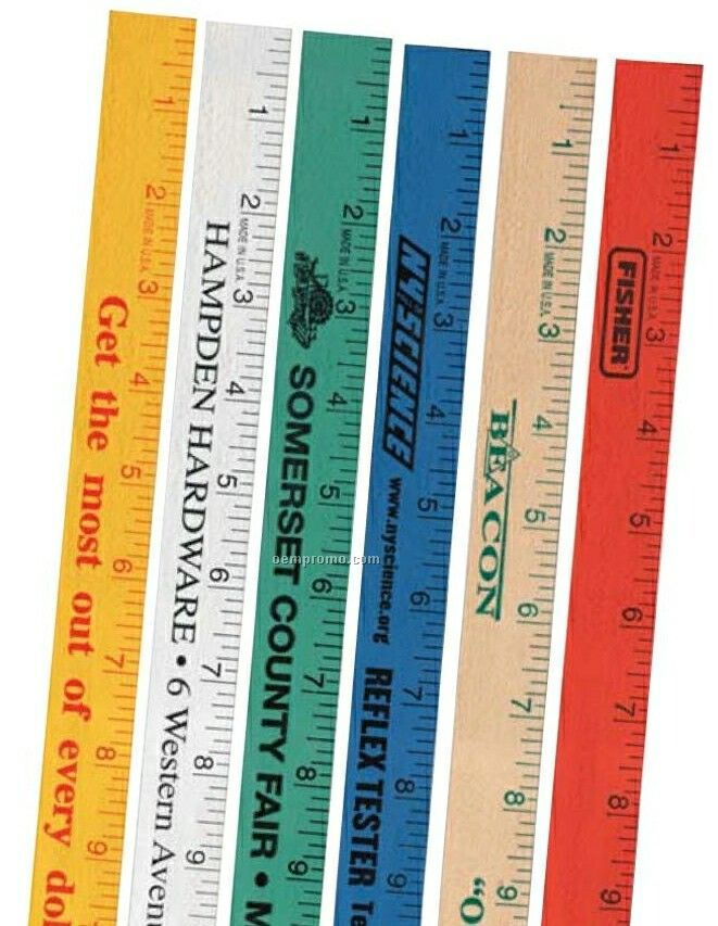 "Falcon Yardstick With Natural Finish (1/4""X1 1/8""X36"")"