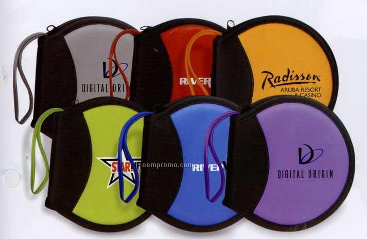 Translucent Round 12 CD Case