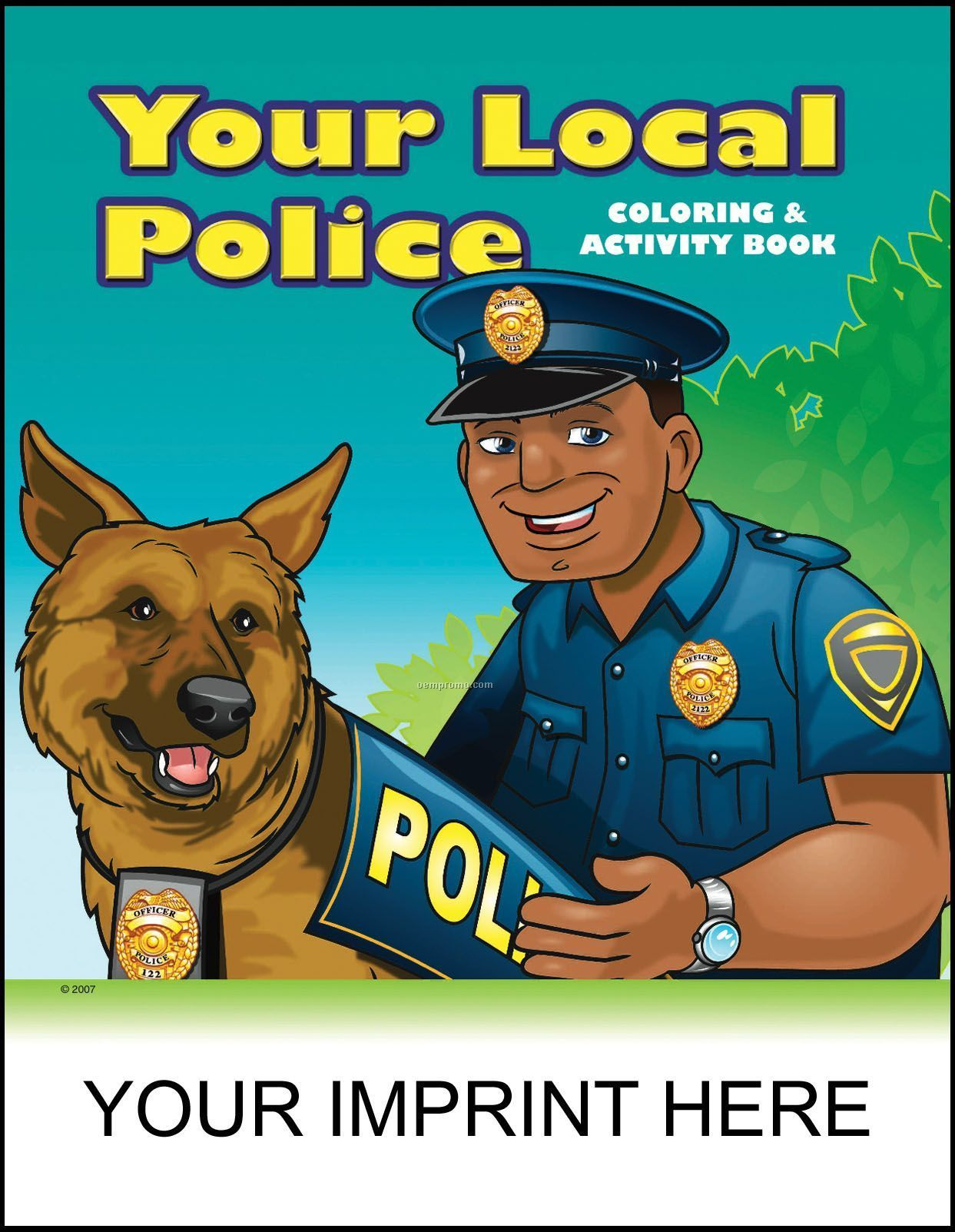 Your Local Police Coloring & Activity Book