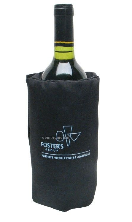 Beverage & Wine Chiller Tote With Carrying Strap