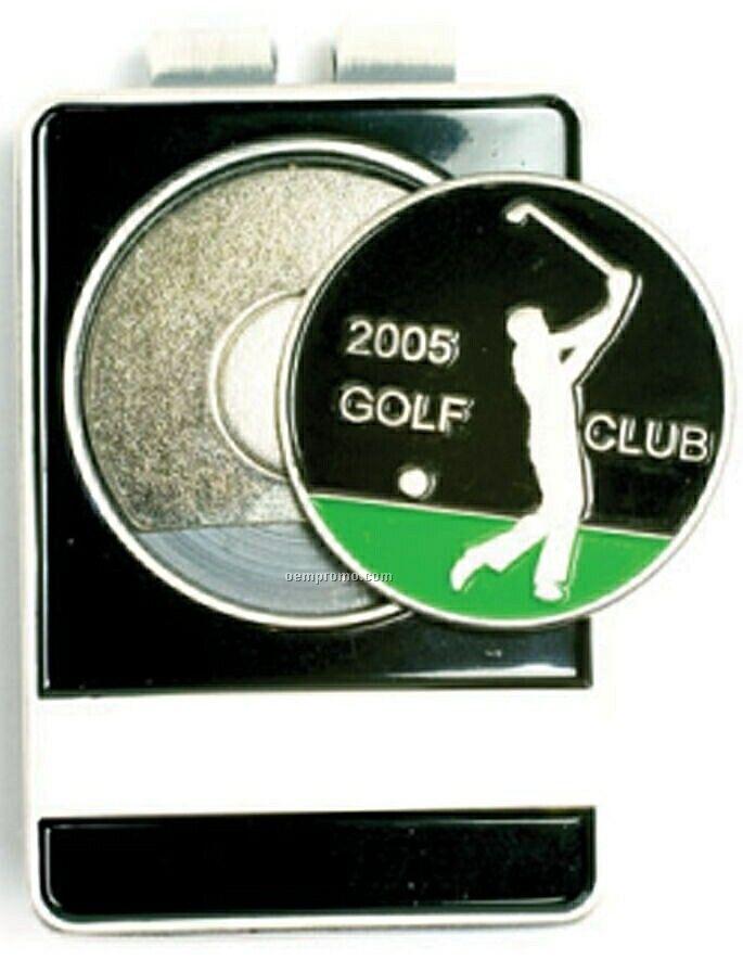 Golf Tournament Id/Money Clip(Die Struck)
