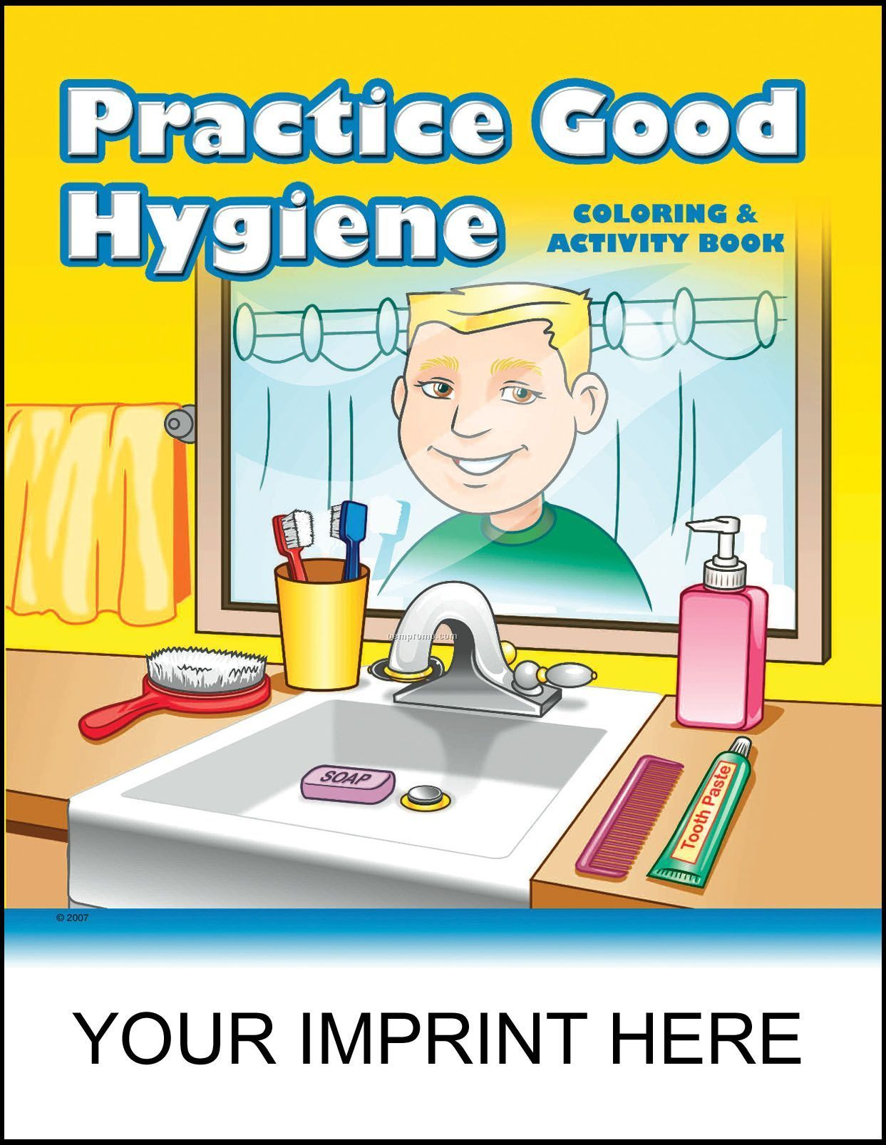 Practice Good Hygiene Coloring & Activity Book