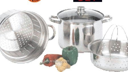 Wyndham House 4 PC Multi-cooker/ Stockpot Set