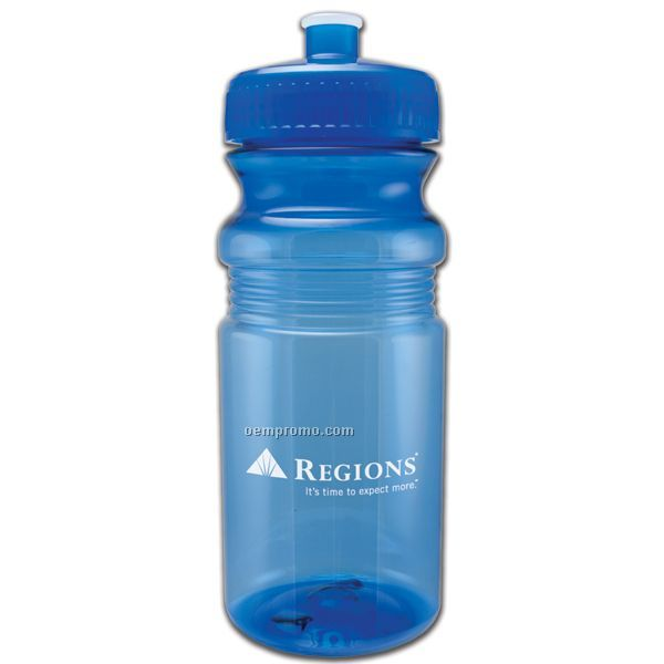 20 Oz. Recreation Bottle W/ Push Pull Lid