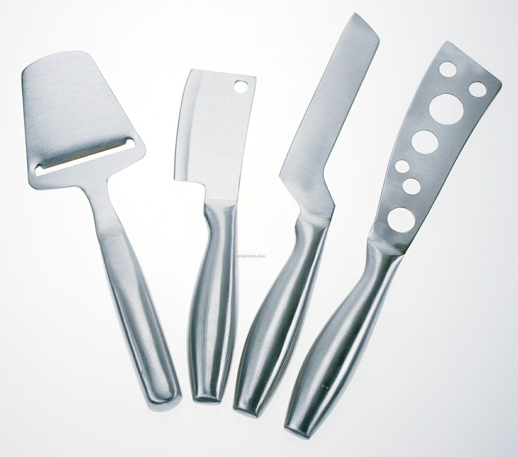 Cheese Board & 4 Knife Set