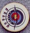 Insert Archery Target - Medallions Stock Kromafusion