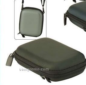 Digital Camera Carrying Bag With Shoulder Strap & Belt Holder