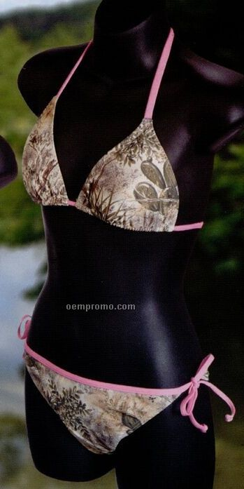 Ladies' Camouflage String Bikini Swimwear