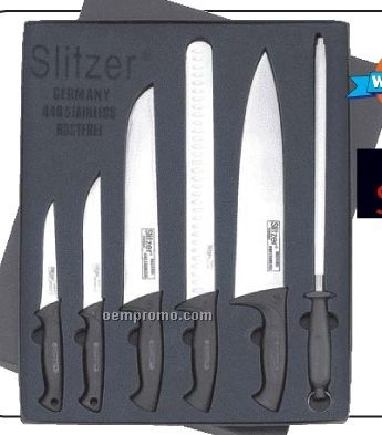 Slitzer Germany 6 PC Professional Knife Set