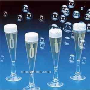 Champagne Glass Bubbles