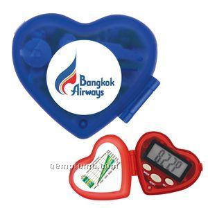 Heart Shape Pedometer - Direct Import