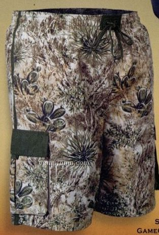 Men's Camouflage Swim Trunks