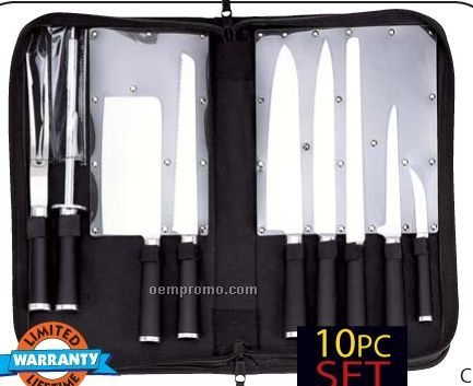 Slitzer 10 PC Professional Cutlery Set