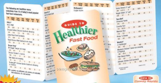 Guide To Healthier Fast Food Pocket Pal (Spanish)