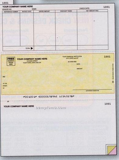 Laser Accounts Payable Check - Accpac Plus Compatible (1 Part)