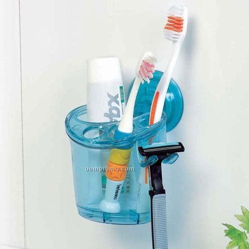 Suction Tube Wall Toothbrush