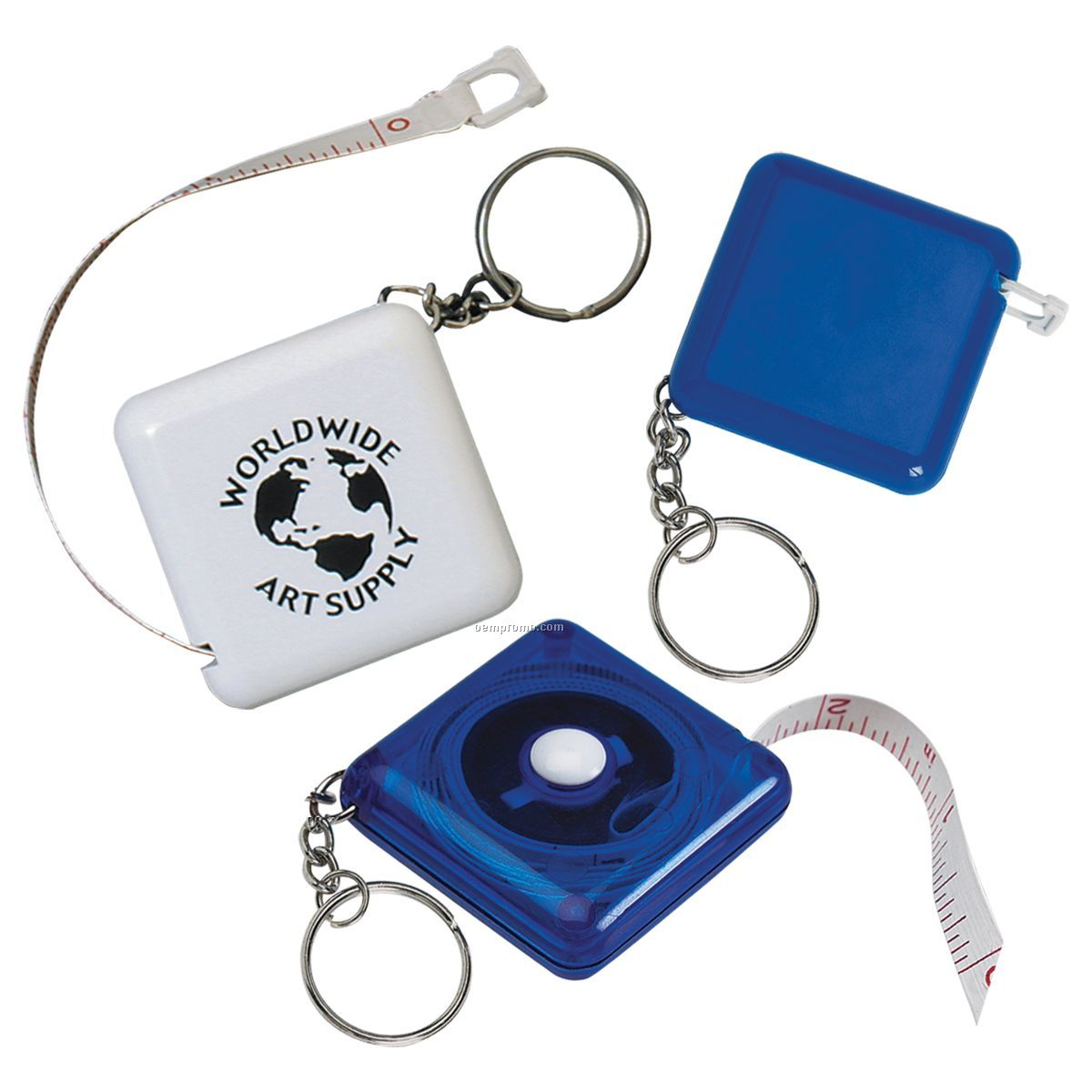Tape-a-matic Measuring Tape W/ Key Tag
