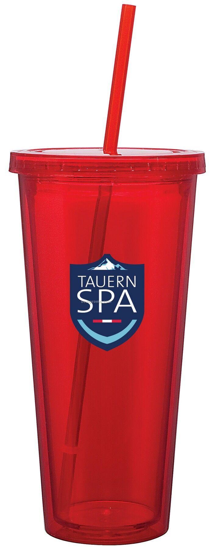 20 Oz. Red Spirit Tumbler Cup