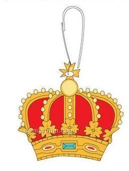 Crown Zipper Pull