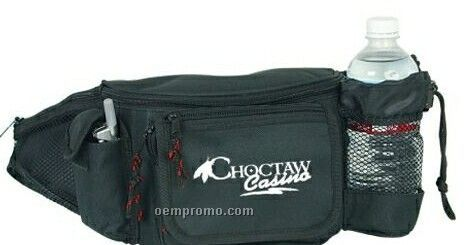 Fanny Pack With Mesh Side Pocket