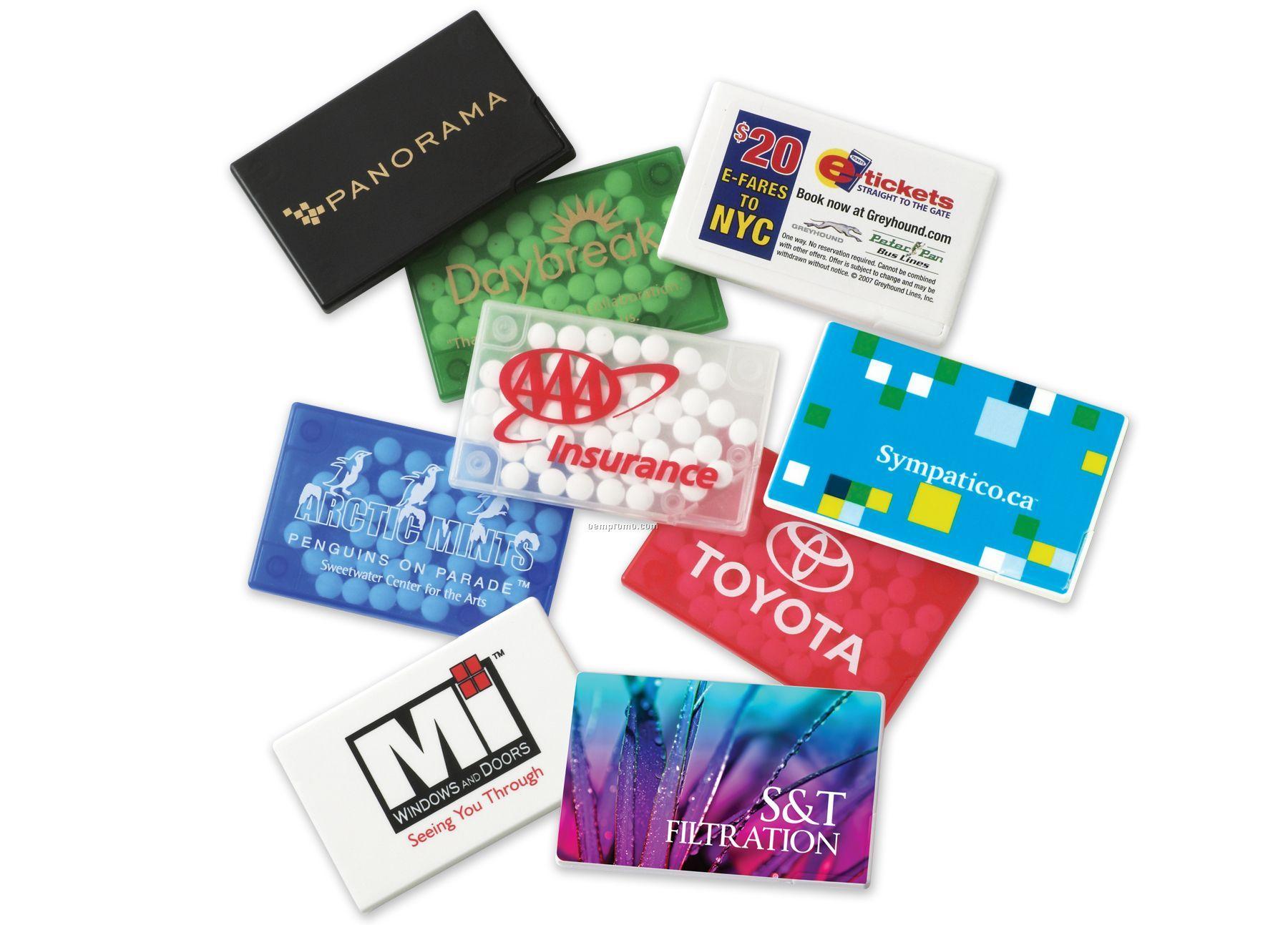 Mint Card W/ Sugar-free Micromints