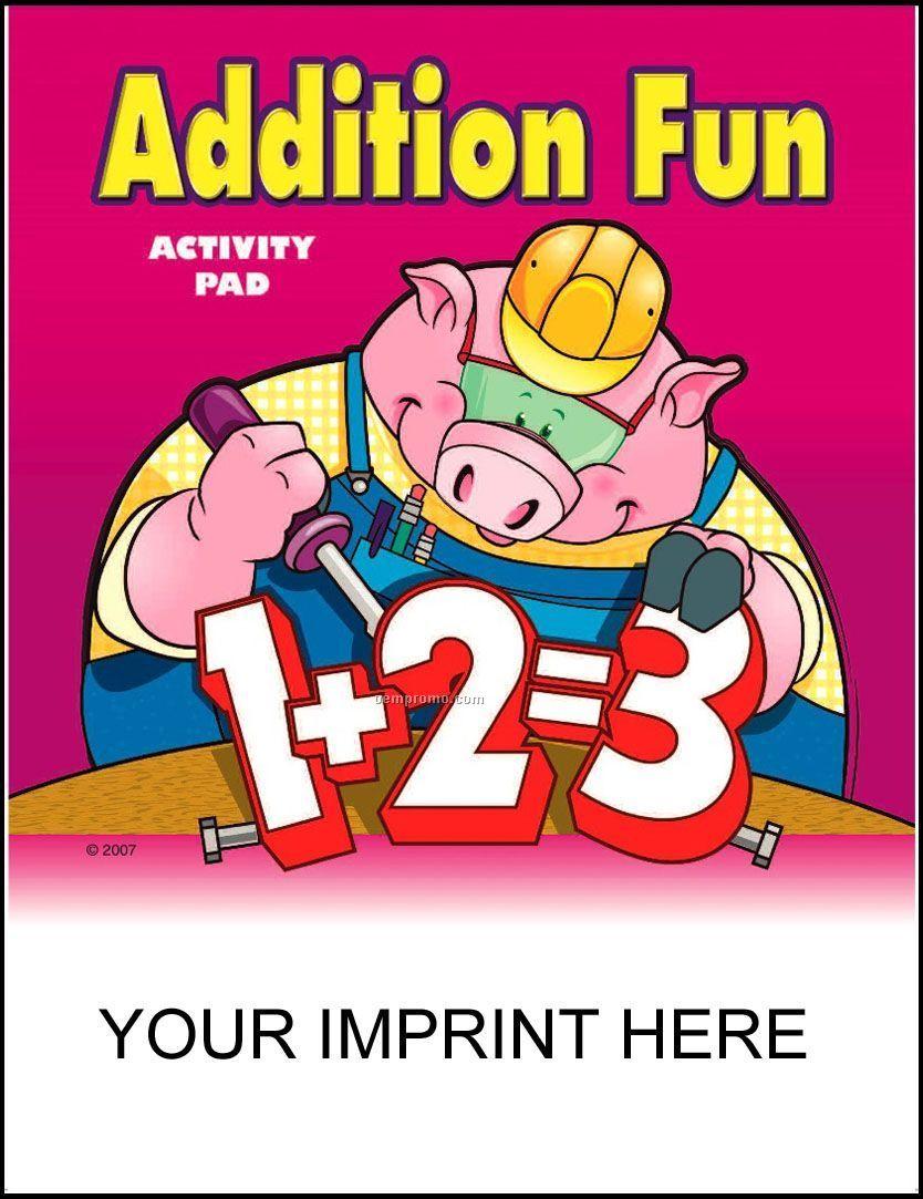 Addition Fun Activity Pad