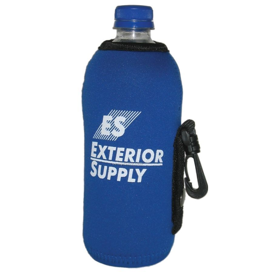 Drink Cooler With Zipper
