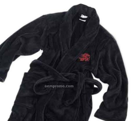Black Velura Robe (L-xl)