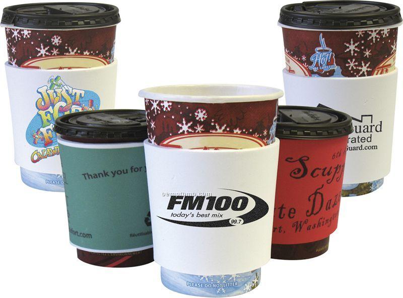 Foam Coffee Cup Wrap