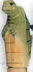Carved Wood Walking Sticks - Turtle