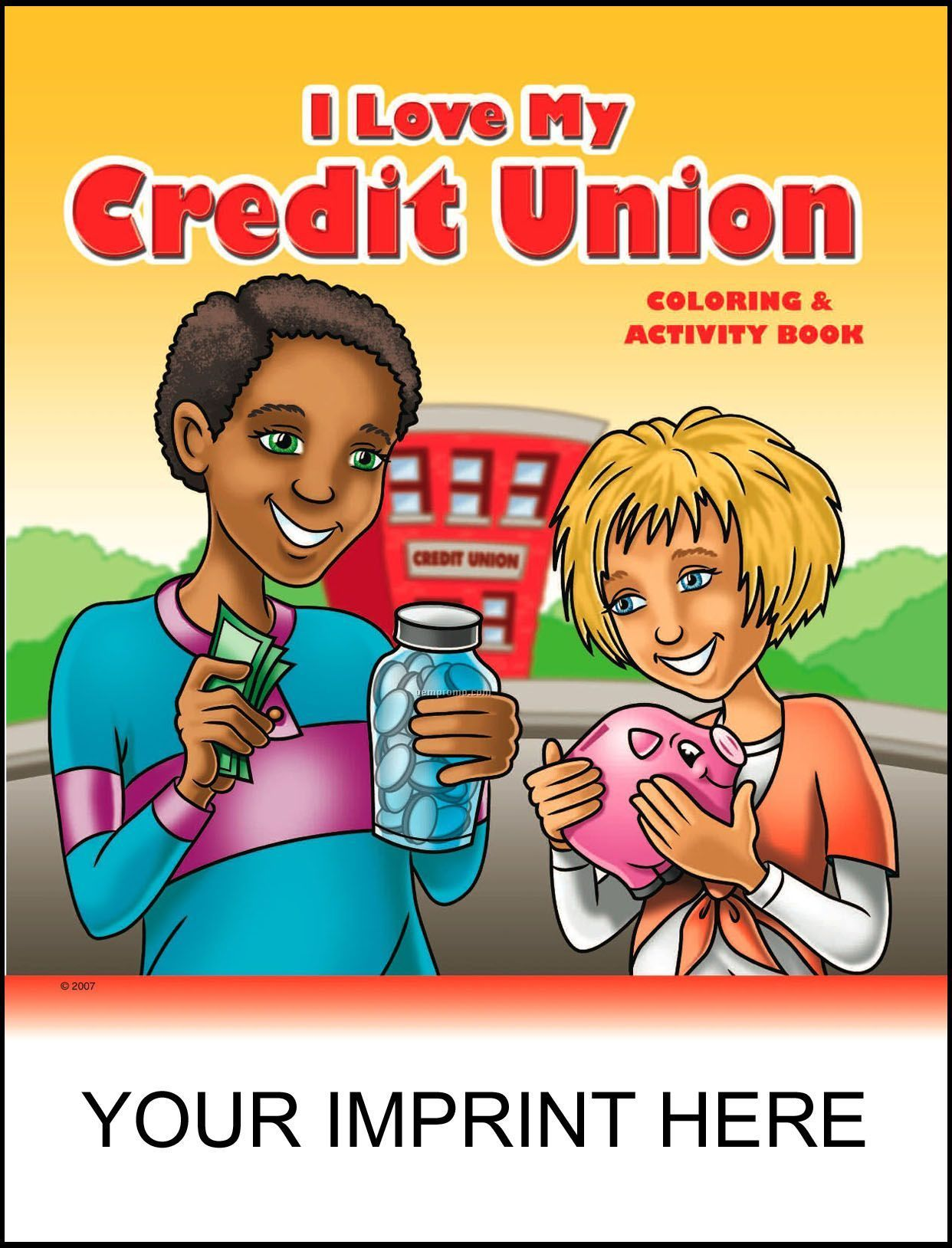I Love My Credit Union Coloring & Activity Book