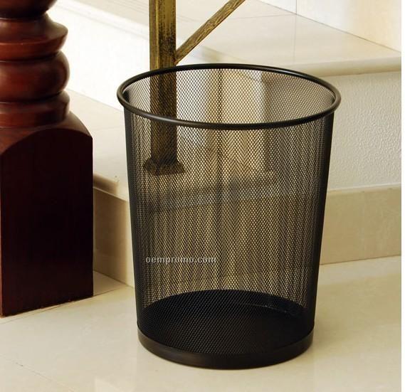 Iron Mesh Garbage Basket