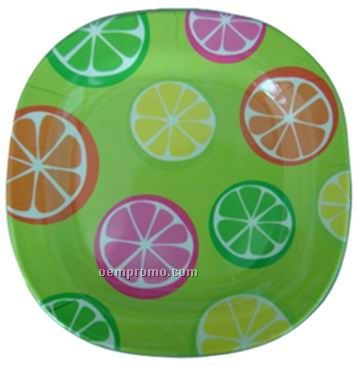 "Melamine Dinner Plate (10"" Square)"