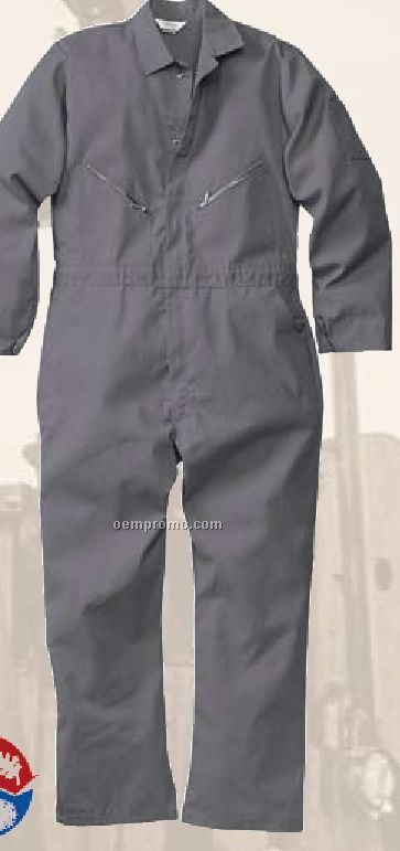 Walls Cotton/ Poly Coverall - Red