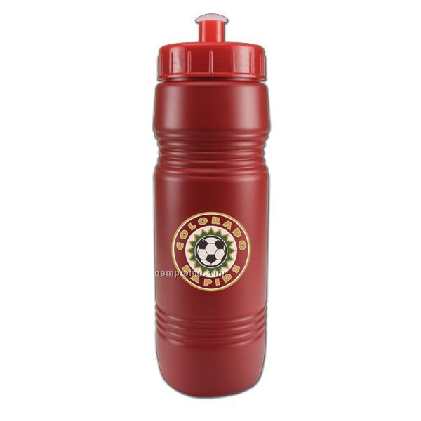 26 Oz. Recycled Bottle W/ Push Pull Lid