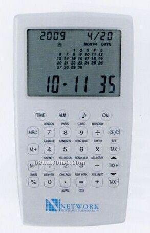 Aluminum Calendar Clock Calculator