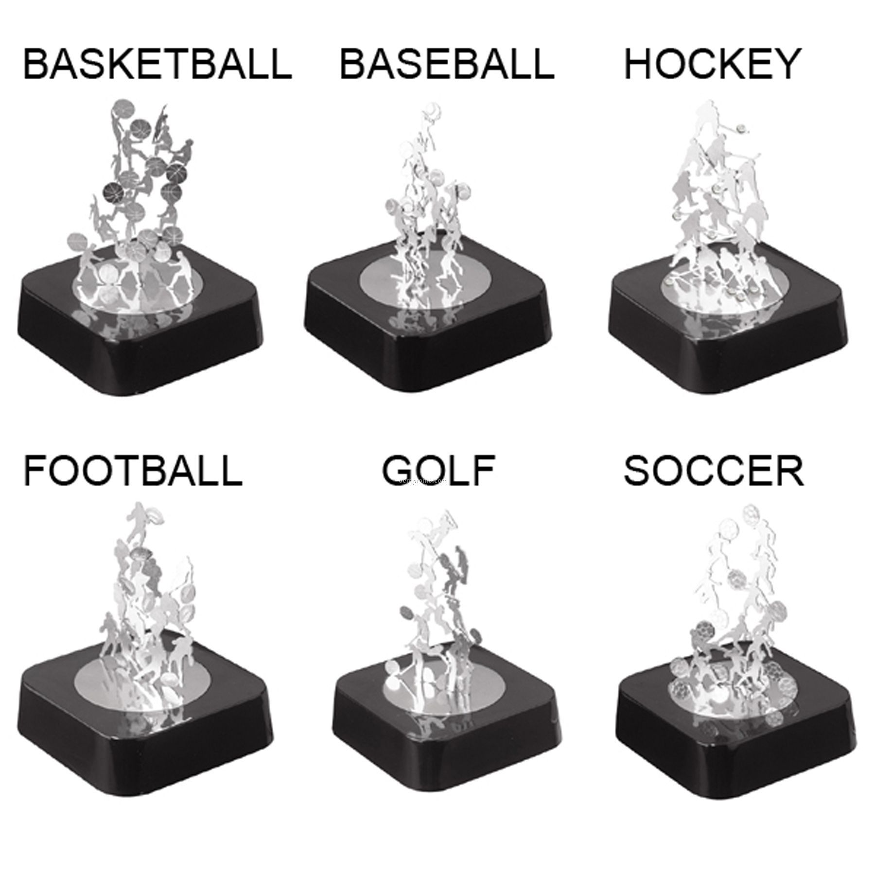 Magnetic Sculpture Sport Series Football China Whole
