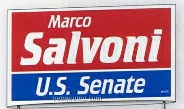Political Campaign Kit (500 Yard/ 24 Corrugated/ 1500 Bumper/ 3000 Lapel)