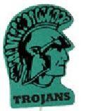 Trojan Mascot On A Stick