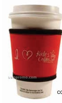 Cup Cozy Long Sleeve (Screened)