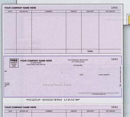 Laser Accounts Payable Check - Mas 90 Compatible (1 Part)