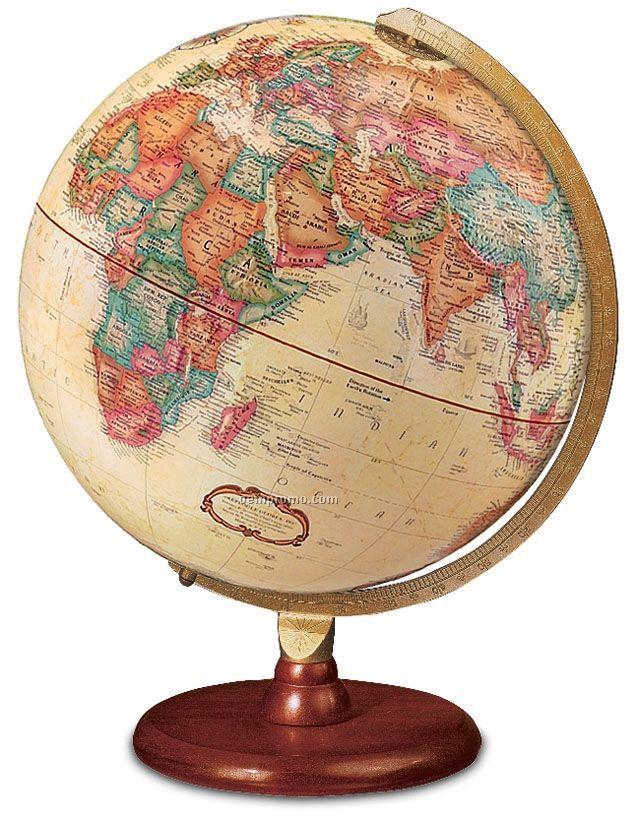 Piedmont Antique Ocean Globe