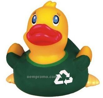 Rubber Go Green Duck