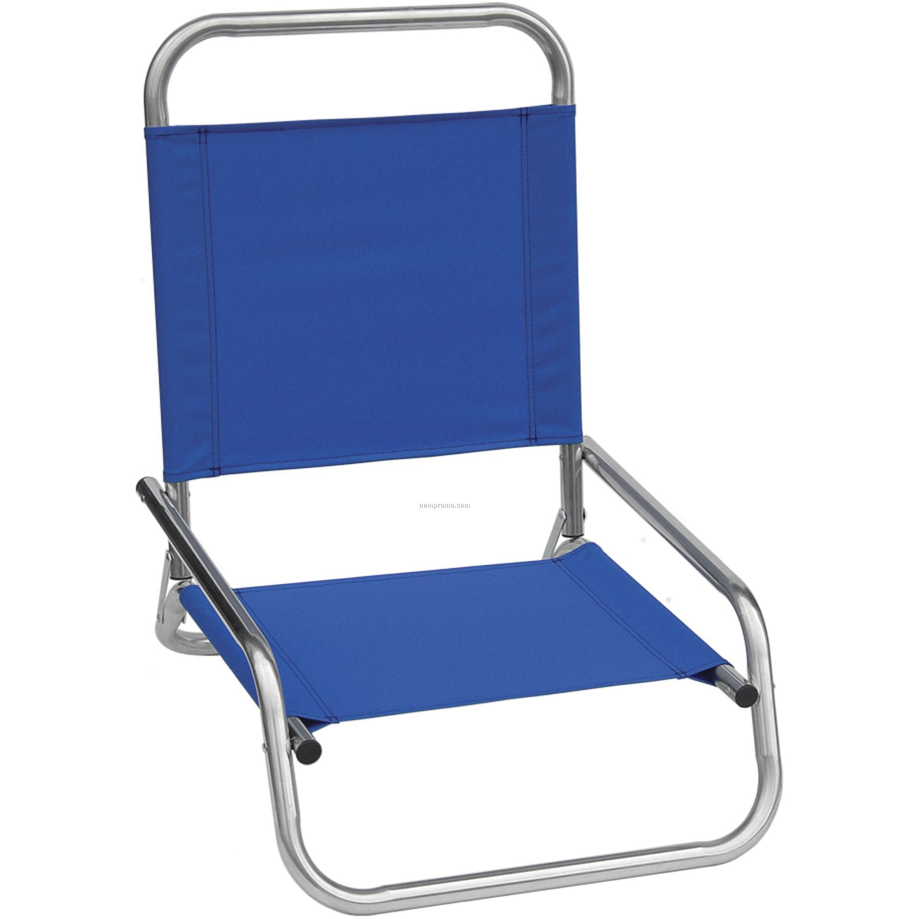 Us Made Deluxe High Back Wide Beach Chair With A Full Color Digital Imprint