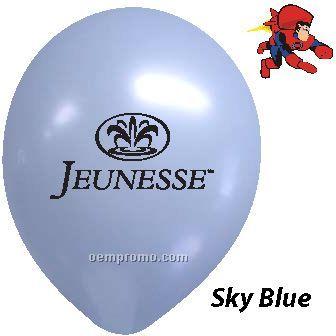 "9"" Sky Blue Latex Balloons"