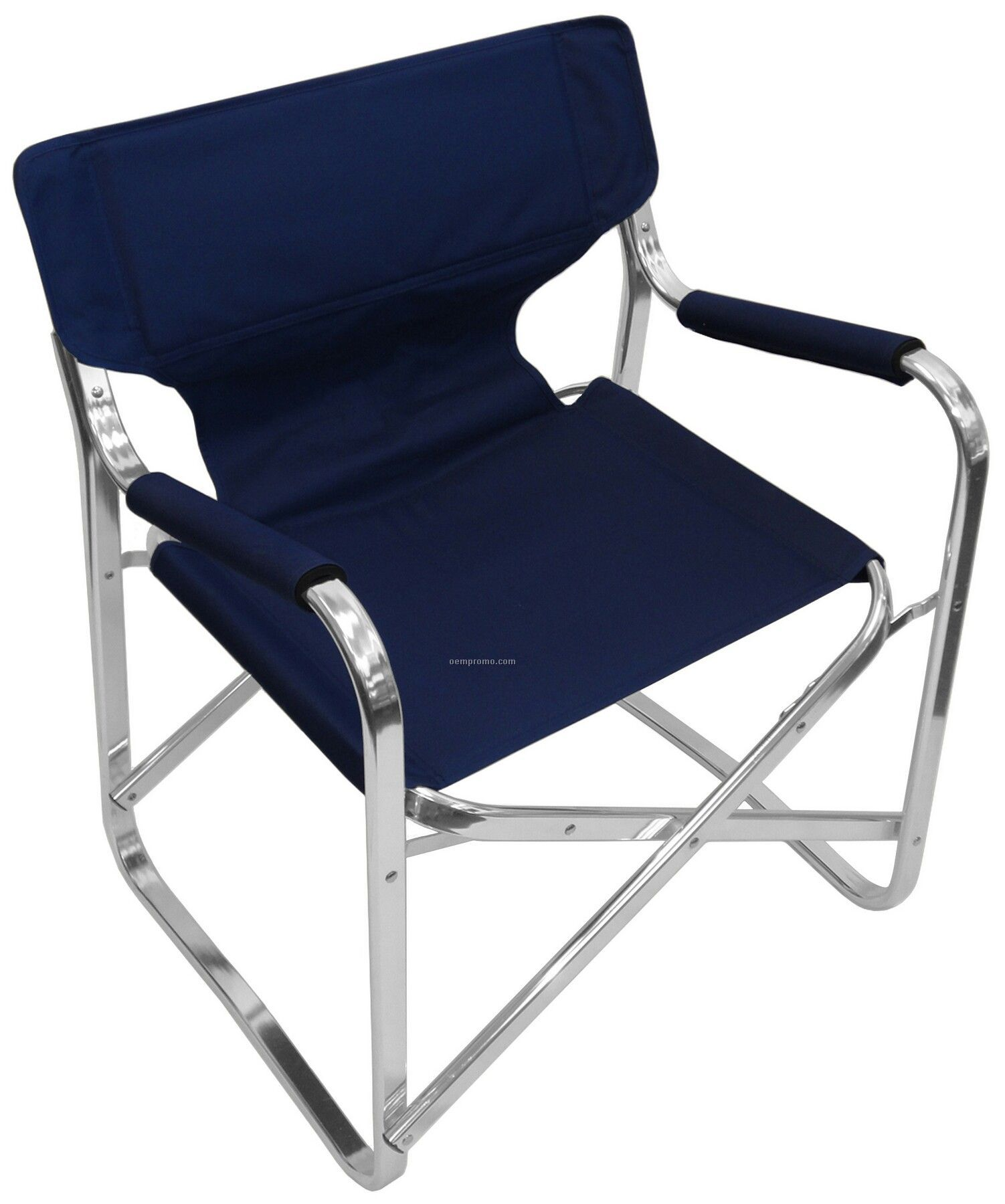 Superbe Faulkner Aluminum Director Chair With Folding Tray And Cup Holder