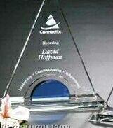 "Indigo Gallery Crystal Masters Tower Award (9 1/2"")"