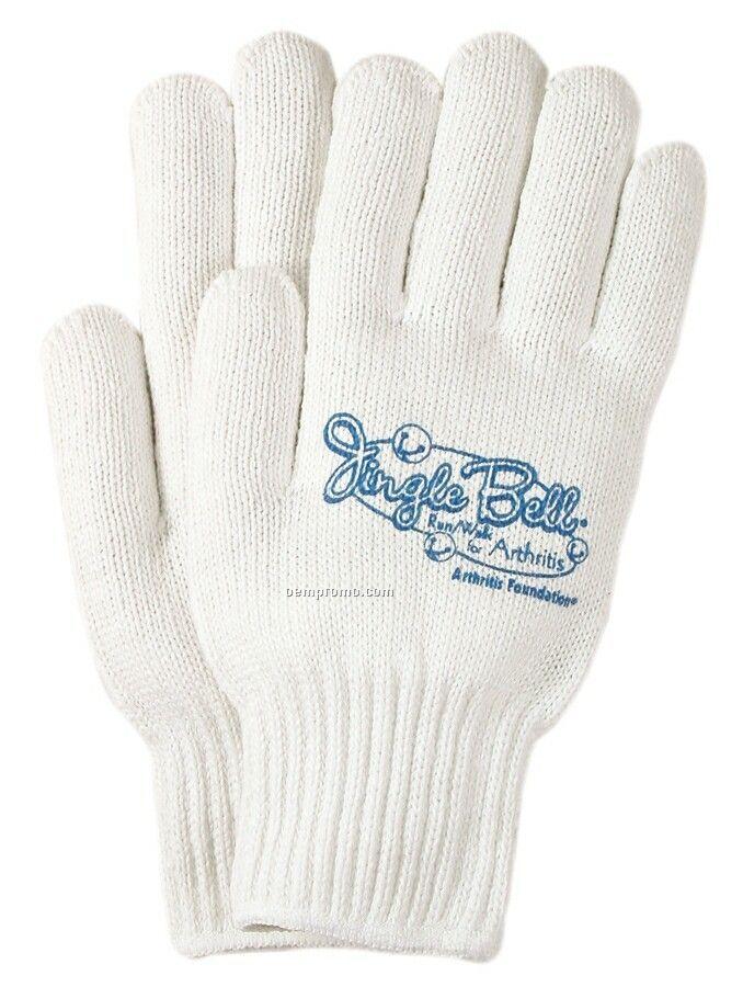 Men's Seamless Knit Reversible Runner/ Marathon Gloves (Large)